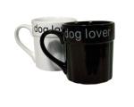 Mugg Dog Lover Vit