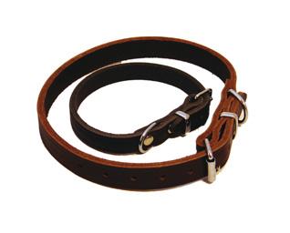 Läderhalsband