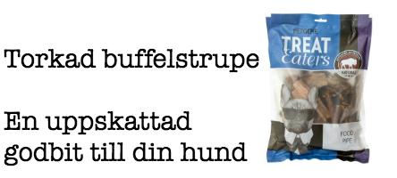Torkad buffelstrupe